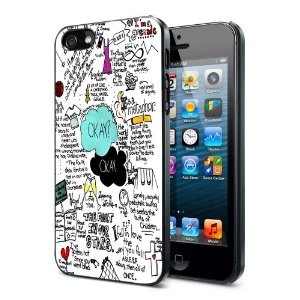 Amazon.com: The Fault in Our Stars Okay Okay Iphone 5 Case Hard Back Case Cover: Cell Phones & Accessories