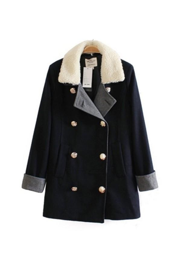 coat persunmall black coat
