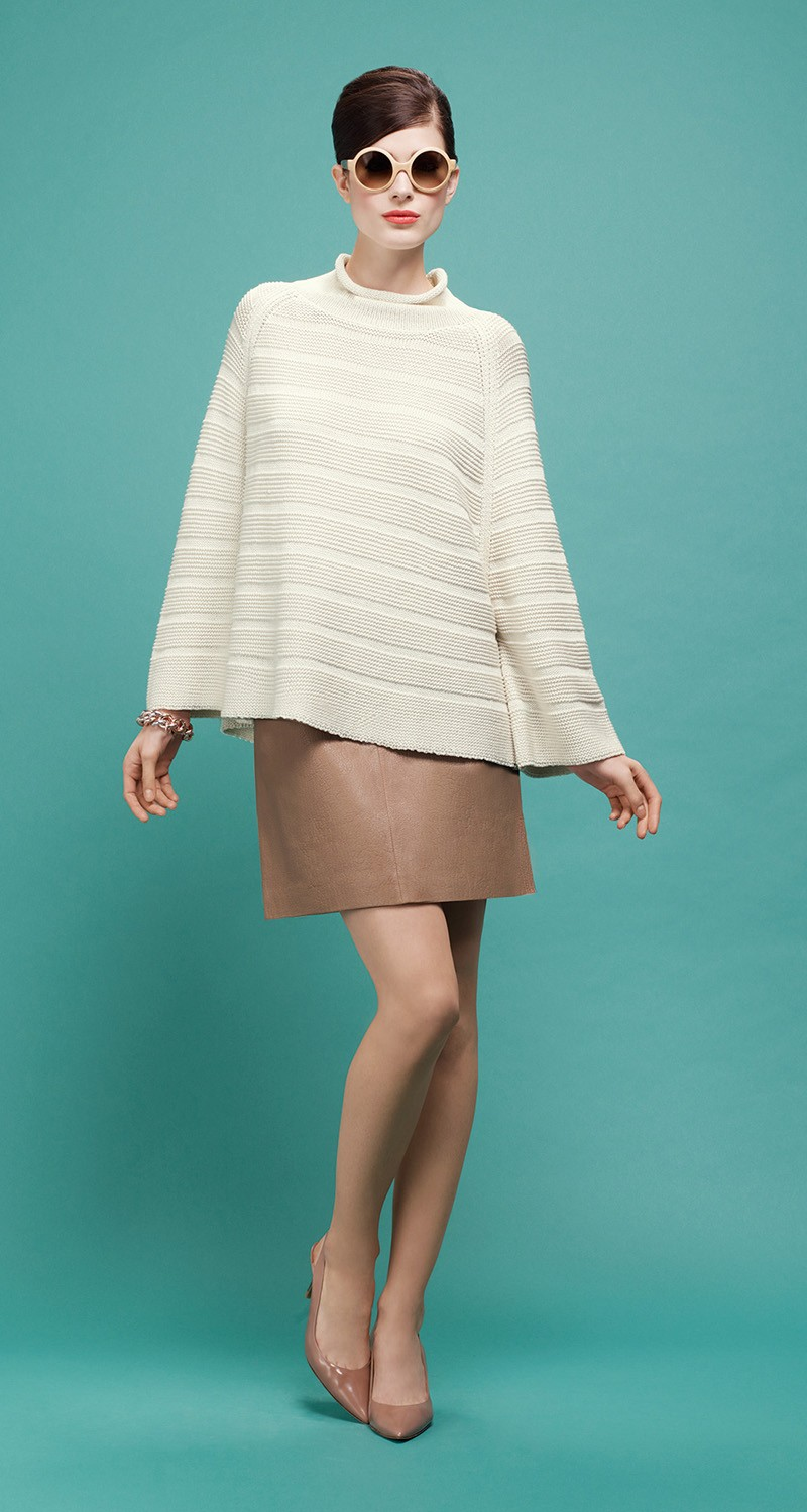 Sweater in heavy gauge cotton  - Sweaters and cardigans - COLLECTION - Pre-collection Spring 2014
