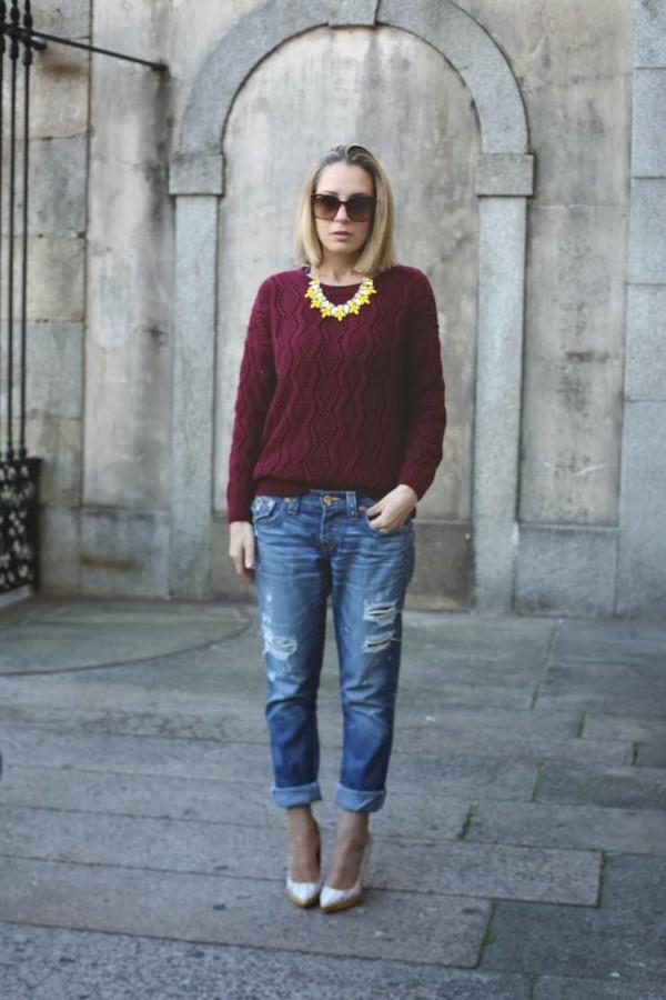 my showroom jewels t-shirt sweater jeans shoes sunglasses