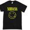 Nirvana smile grunge t-shirt - basic tees shop