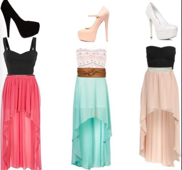 dress cute dress long dres nice heels