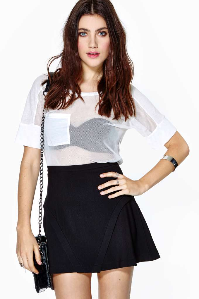 Dangerous Curves Skirt  in  What's New Clothes Bottoms at Nasty Gal
