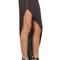 Chic side zip black asymmetrical skirt – glamzelle
