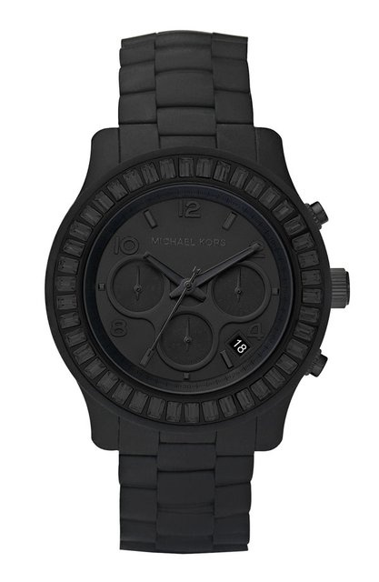 Tuesday $100 Deal: Michael Kors Black Matte   MT Watches
