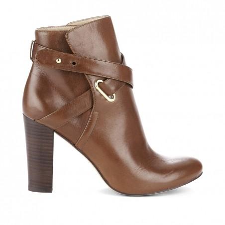 Sole Society - Block heel booties - Kaila - Amaretto