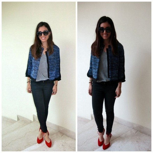 my fash diary jacket shoes sunglasses