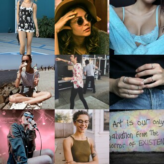 top style me back to school tumblr tumblr girl style sky ferreira effy stonem tie dye indie miley cyrus underwear tumblr outfit