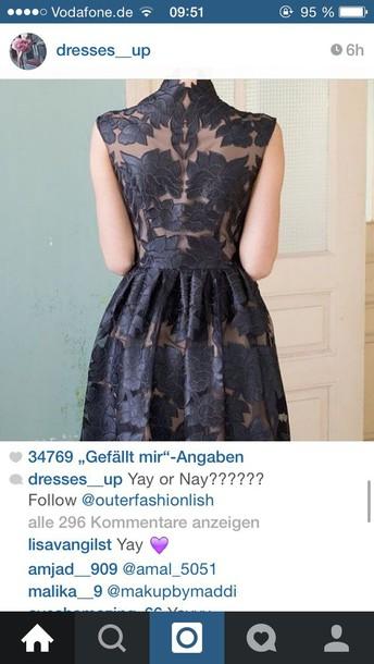 dress wedding black dress