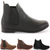 Womens Pixie Vintage Style Winter Chelsea Low Heel Short Flat Ankle Boots Size | eBay