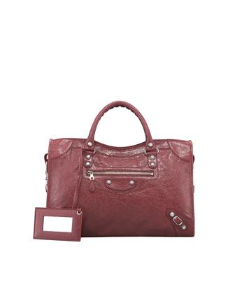 Balenciaga Giant 12 Nickel City Bag - Neiman Marcus
