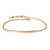 Zoe Chicco  — mixed silver & 14k rose bullet cuff