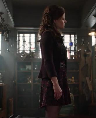 skirt emilie de ravin belle once upon a time show