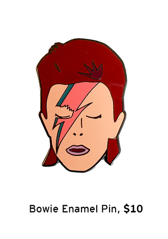 pins david bowie halloween accessory accessories