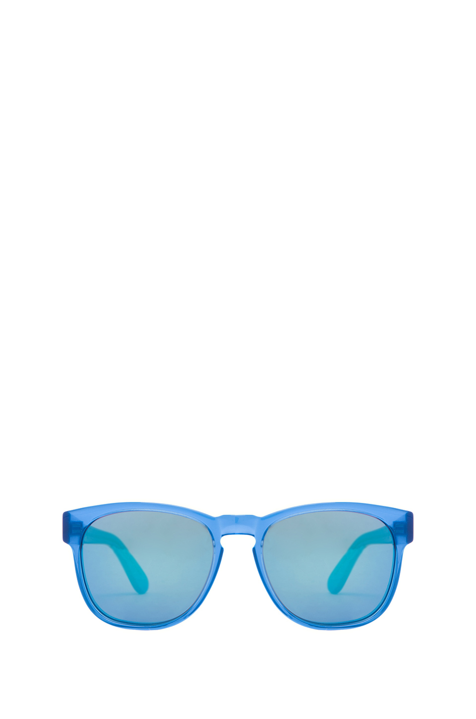 Wildfox Couture Classic Fox 2 Sunglasses in Blue | REVOLVE