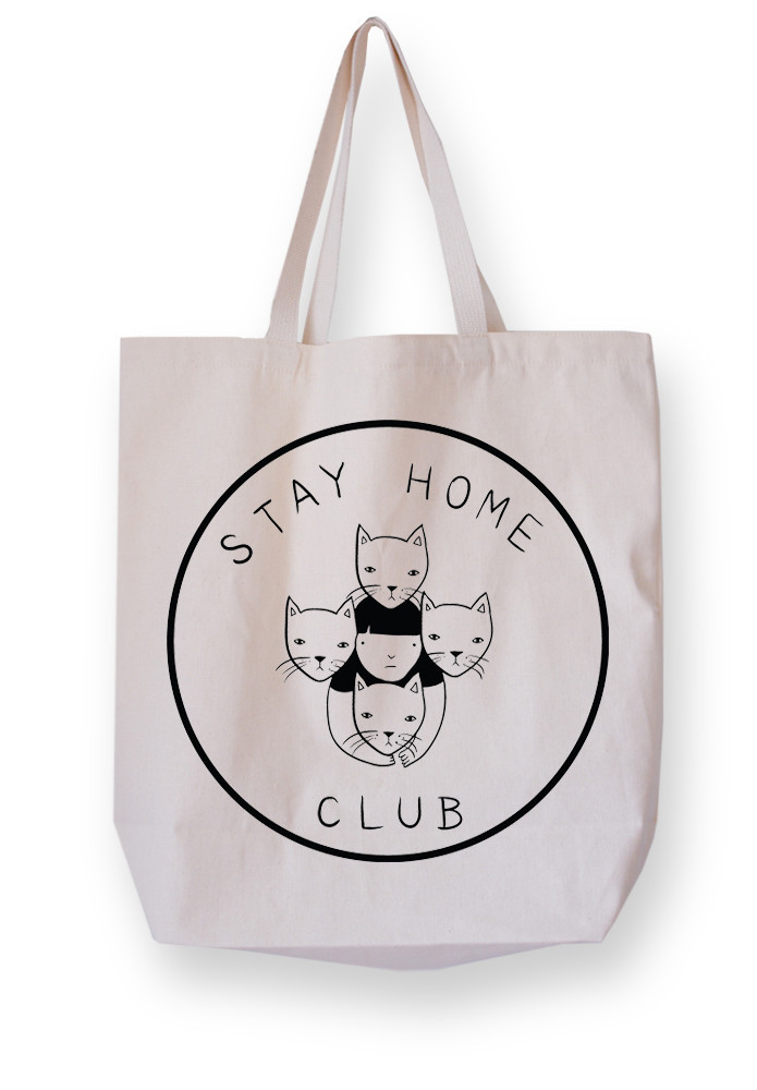 Stay Home Club tote bag – Stay Home Club