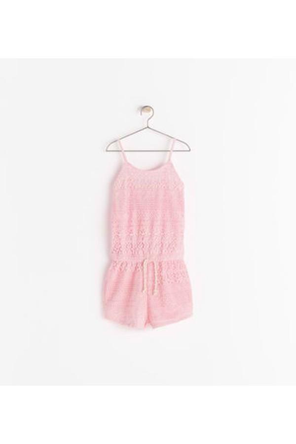 romper pink laces dress prom laces dresses