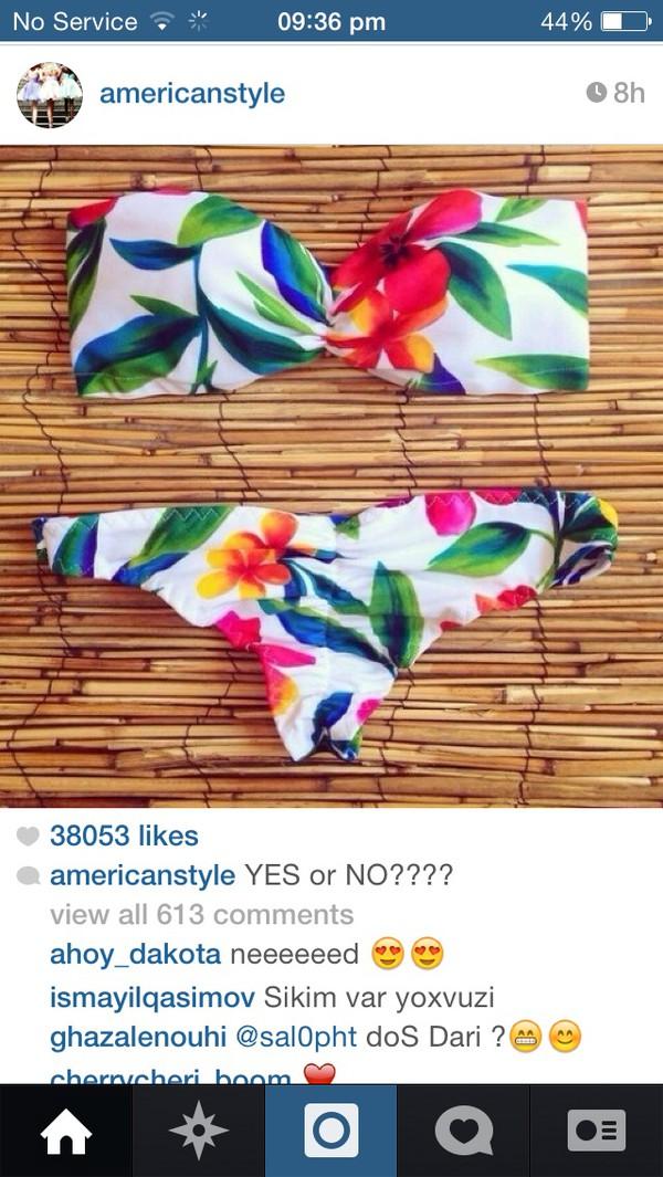 swimwear tropical bikini tropical swimwear