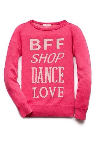 sweater shop bff dance love