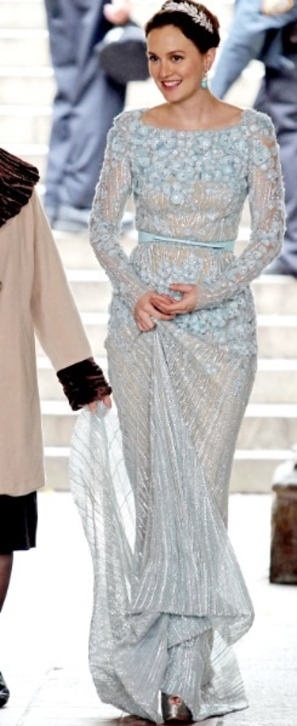 dress leighton meester leighton meester blair waldorf blair waldorf gossip girl wedding dress