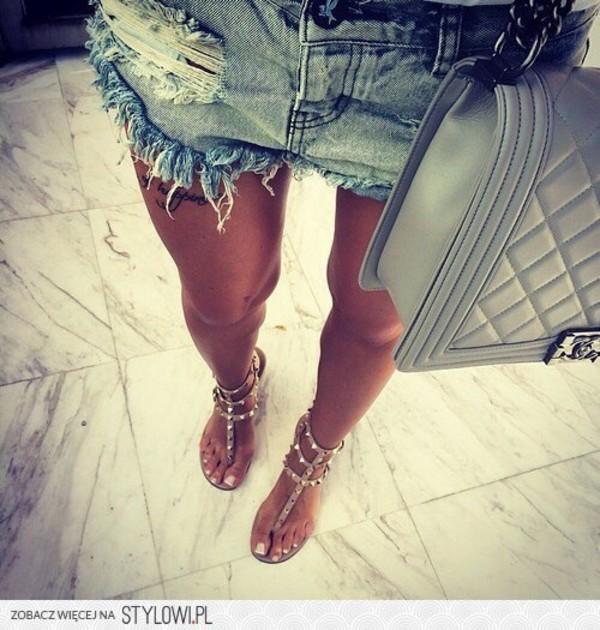 shorts shoes bag