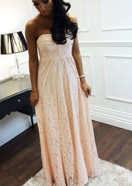 dress lace dress long dress