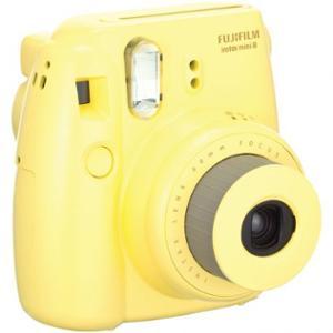 Fujifilm Instax Mini 8 Camera - Yellow: Cameras & Camcorders : Walmart.com