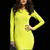 Long Sleeve Wedding Party Slim Bandage Dress HL114$109