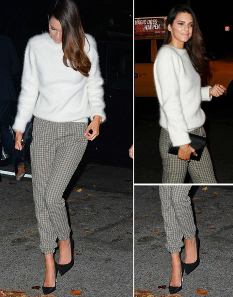 pullover kendall jenner pants
