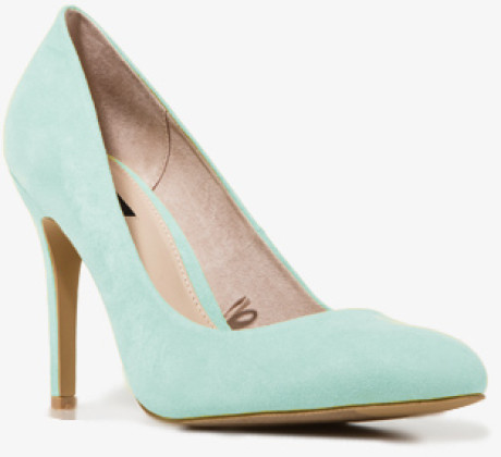 Forever 21 Faux Suede Pumps in Green (MINT) | Lyst