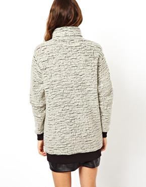 ASOS | ASOS Polo Sweater in Wool Stripe at ASOS