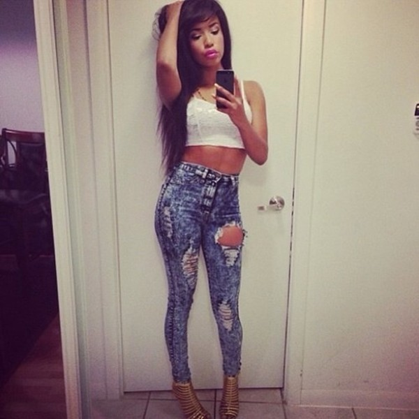 jeans high waisted jeans