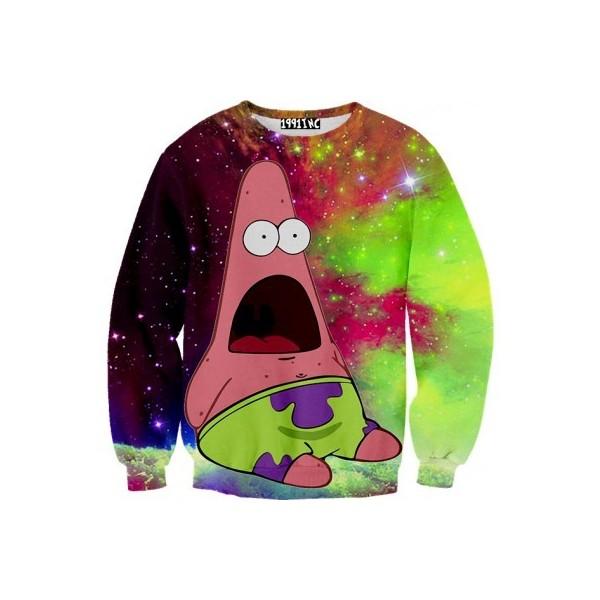 Patrick Galaxy Sweater - Polyvore
