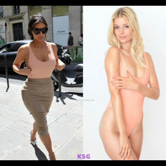 American Apparel - Nylon tricot one piece Kim Kardashian wore from Hana's closet on Poshmark