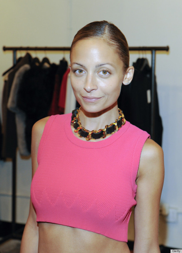 jewels celebrity style designer chanel couture fab swag love gold trendy boho necklace gold chain necklace chain link necklace nicole richie celebrity style steal