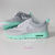 Nike Air Max Thea shoes w/Swarovski Crystals detail - gray - tiffany mint on Wanelo
