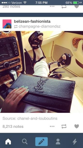 shoes style heels stilettos black heels shinning