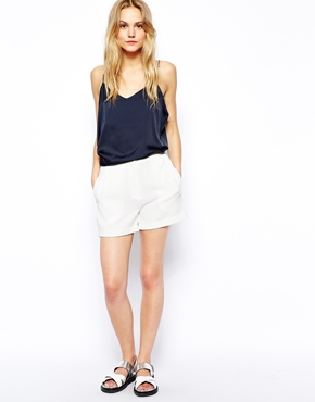 Vila | Vila Soft Tailored Shorts at ASOS
