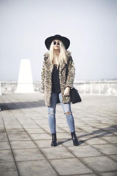 room91 blogger hat jacket bag jeans shoes coat