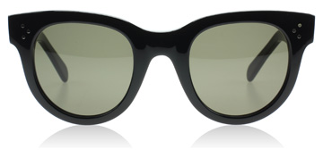 Celine Baby Audrey Sunglasses : Baby Audrey Black 807 : UK