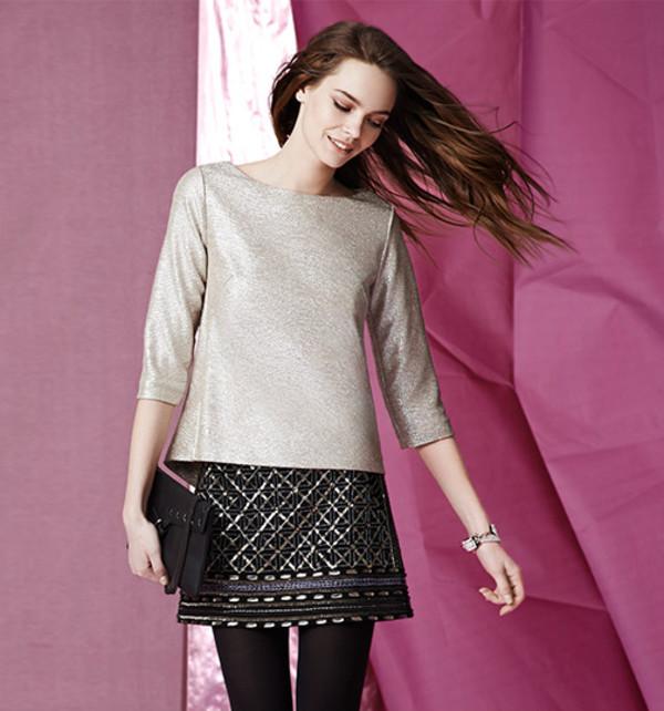 skirt lookbook fashion club monaco