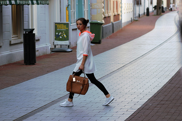 mode d'amour sweater dress shoes bag