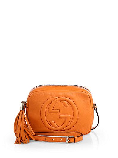 Gucci - Soho Leather Disco Bag - Saks.com