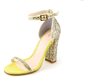 shoes glitter princess sandales