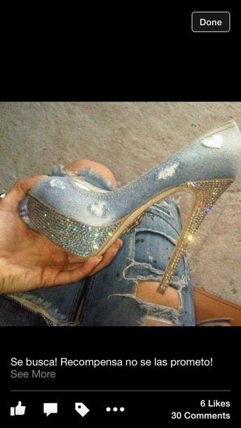shoes denim shoes