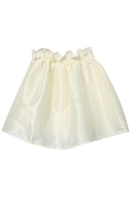 ROMWE   High-waist Bud Puff White Skirt, The Latest Street Fashion