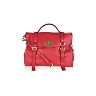 alexa mulberry red look-a-like bag red bag