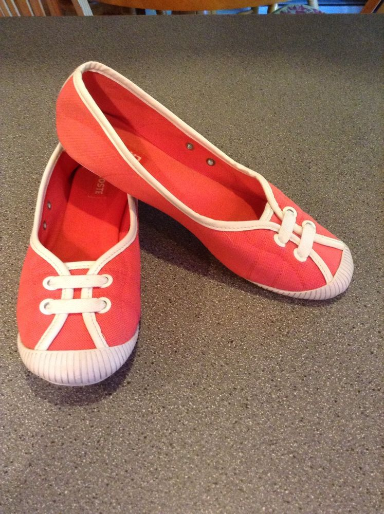 Womans Lacoste Slip Ons Size 8 1 2 | eBay
