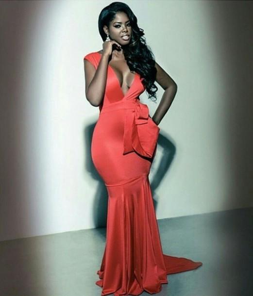 dress red dress long dress