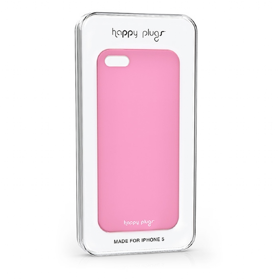 Ultra Thin iPhone 5/5S Case Pink - Happy Plugs